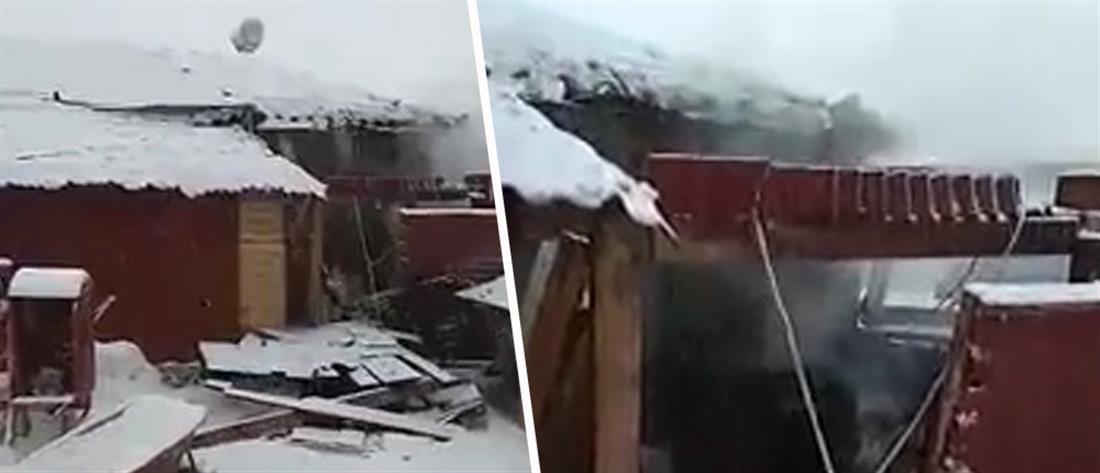 Κεραυνός ανατίναξε... λέβητα σπιτιού στην Κοζάνη! (βίντεο)