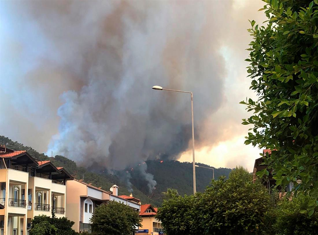 AP - Τουρκία - φωτιά