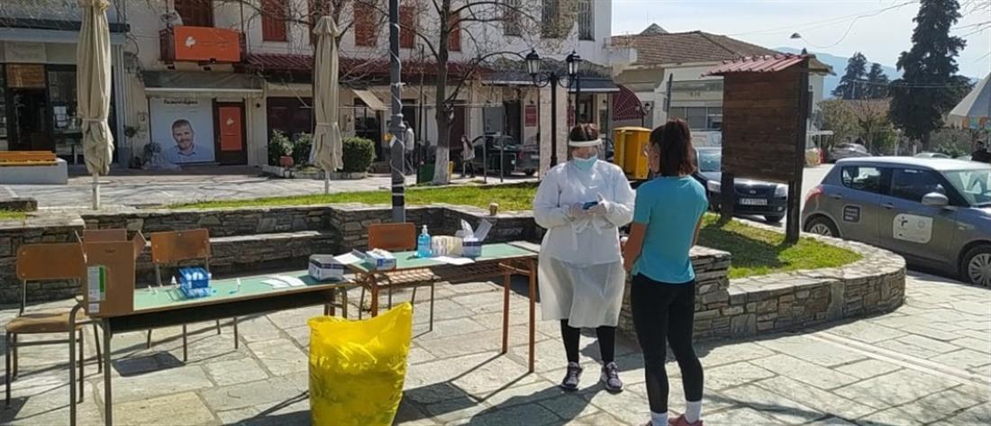 Κορονοϊός: Τα αποτελέσματα των rapid test της Δευτέρας