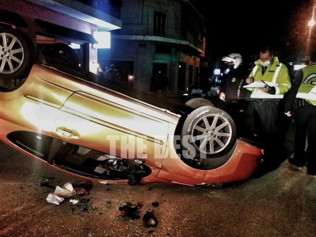 Πάτρα - τροχαιο ατύχημα