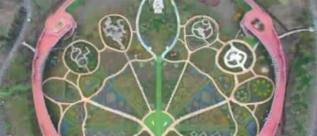 Βόλτα σε παραμυθένιο πάρκο με χιλιάδες τουλίπες (εικόνες)