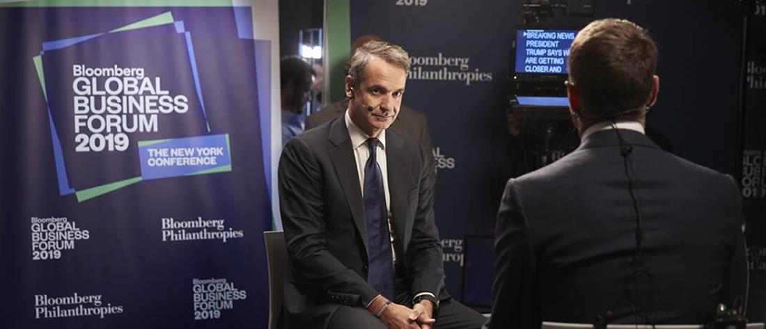 """Μητσοτάκης: θέλω να κάνω την Ελλάδα το """"success story"""" της ευρωζώνης"""