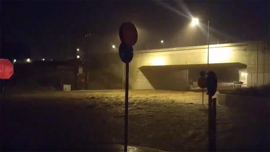 πλημμύρες - κακοκαιρία - Γηρυόνης