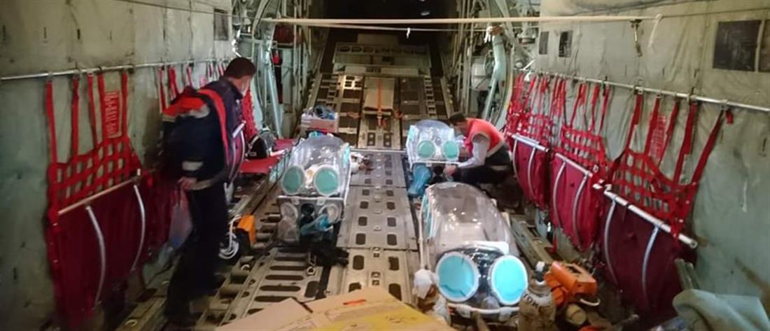 Κορονοϊός: Αεροδιακομιδή ασθενών από την βόρεια Ελλάδα στην Αθήνα