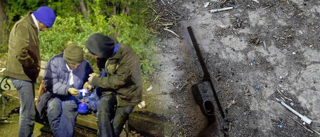 Ναρκωτικά, όπλα και λαθραία τσιγάρα στο Πεδίον του Άρεως