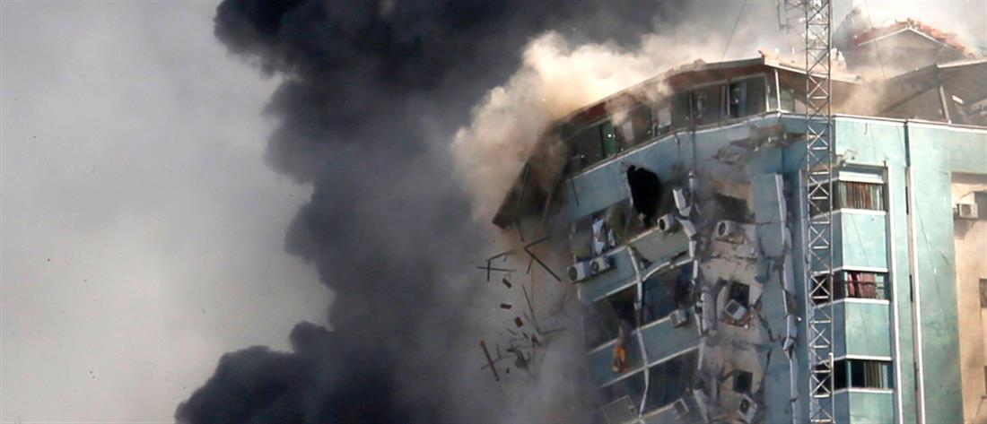 AP - Γάζα - βομβαρδισμός Associated Press