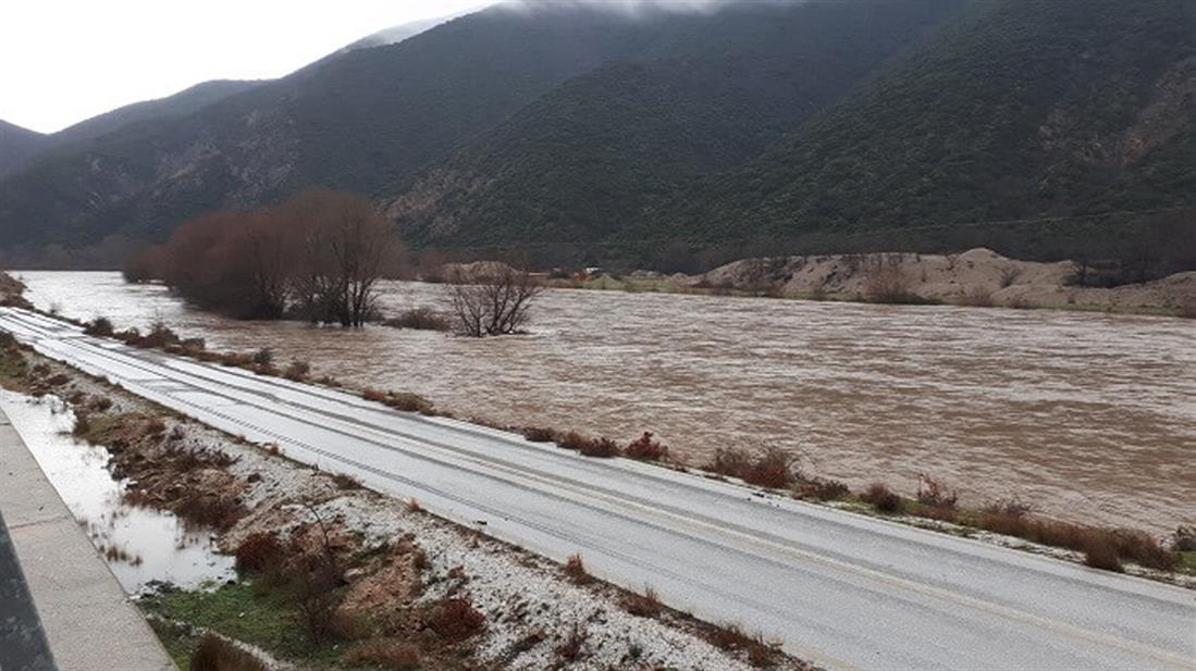 ποταμός  Στρυμόνας - στάθμη - βροχές