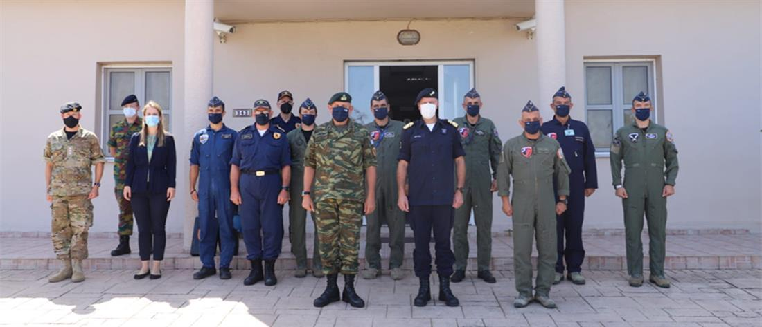 Φλώρος: Η Κρήτη έχει στρατηγική σημασία στην ανατολική Μεσόγειο (εικόνες)