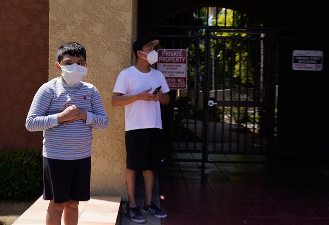 Λος Άντζελες  - παιδιά - νεκρά - διαμέρισμα