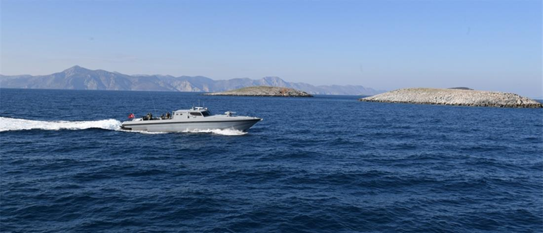 Milliyet: το τουρκικό λιμενικό έδιωξε Έλληνες ψαράδες από τα Ίμια