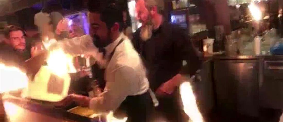 """Πανικός στο εστιατόριο του """"Salt bae"""": Πελάτες του Νουσρέτ πήραν φωτιά! (εικόνες)"""