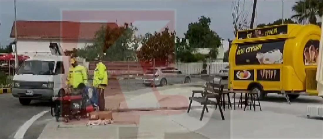 Βαρώσια: τοποθετούν φωτισμό και παγκάκια στην περίκλειστη Αμμόχωστο