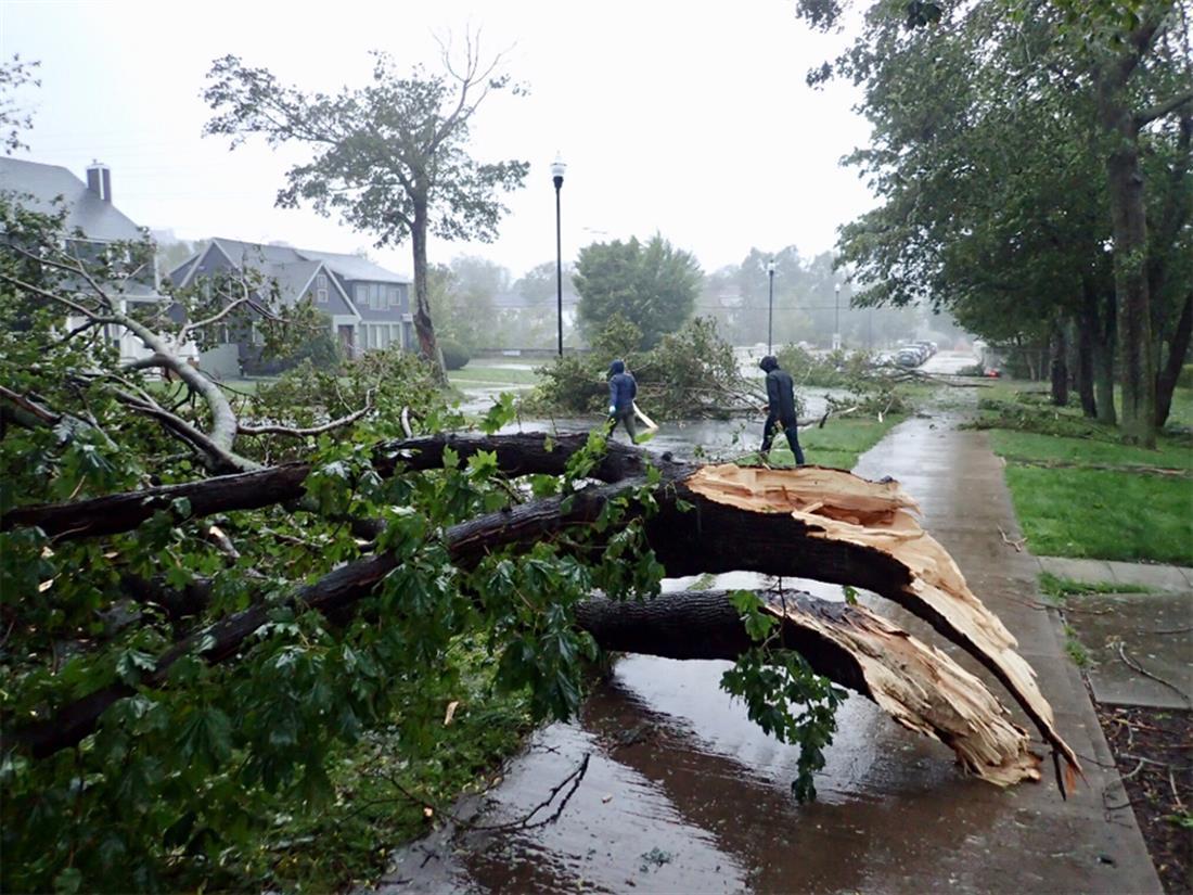 Καναδάς - κυκλώνας Ντόριαν - καταστροφές