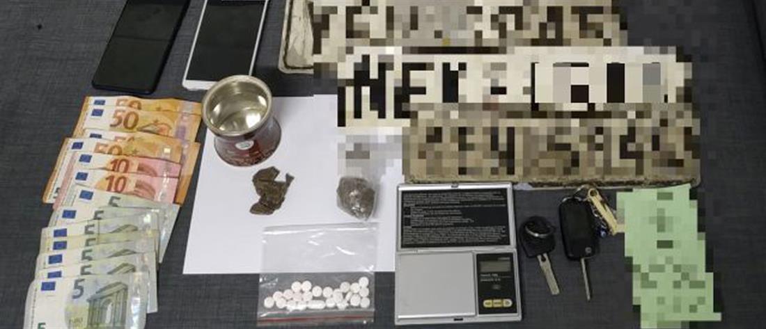 Συλλήψεις για ναρκωτικά στον Ασπρόπυργο (εικόνες)