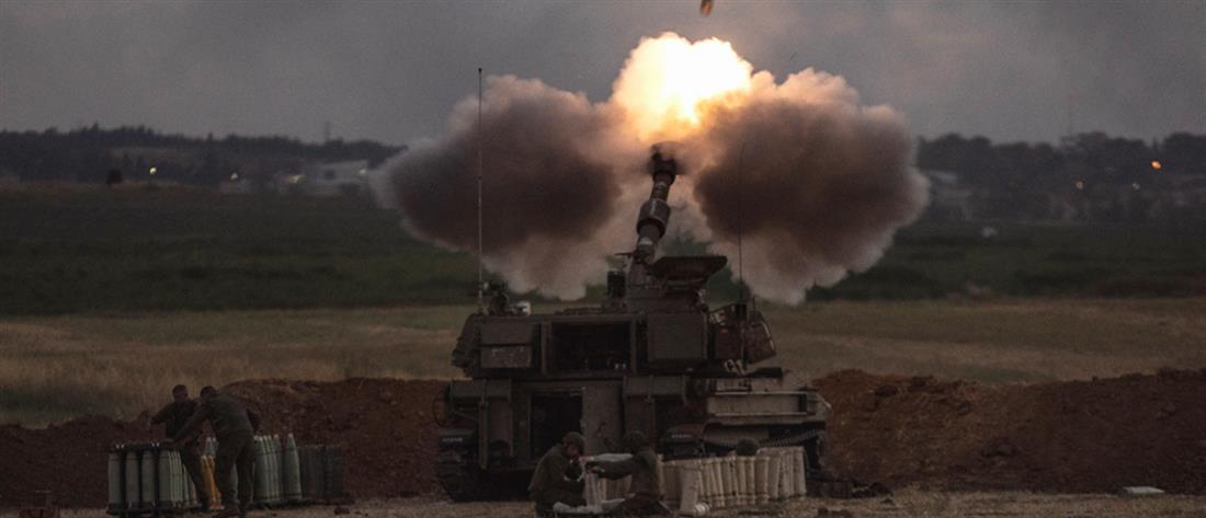 """Γάζα: Αμείωτοι οι βομβαρδισμοί παρά τις διπλωματικές """"μάχες"""" (εικόνες)"""