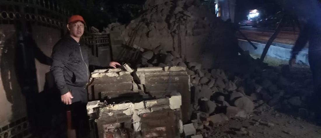 Φονικός σεισμός στο Μπαλί (εικόνες)