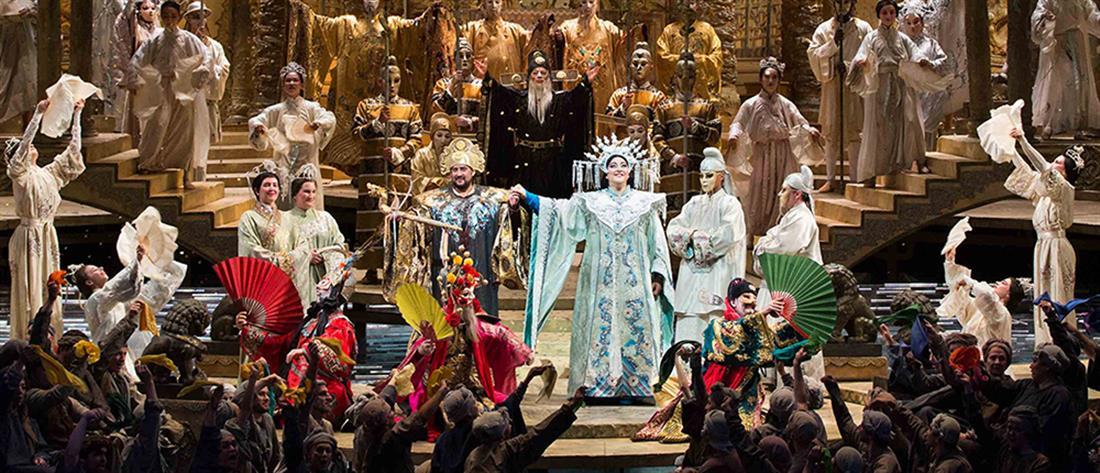 """The Met: Live in HD"": επιστρέφει με την ""Τουραντότ"" (εικόνες)"