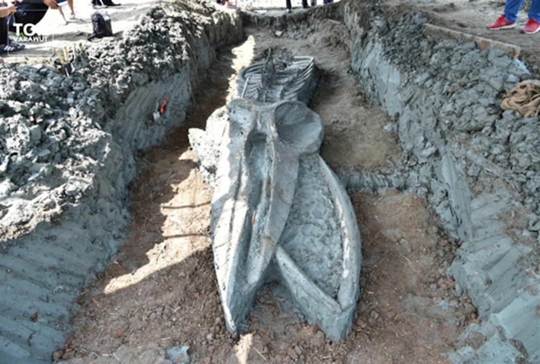 Ανακάλυψη - σκελετός φάλαινας - Ταϊλάνδη