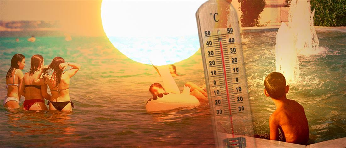 """Κύπρος: """"στο κόκκινο"""" η θερμοκρασία τον Αύγουστο"""