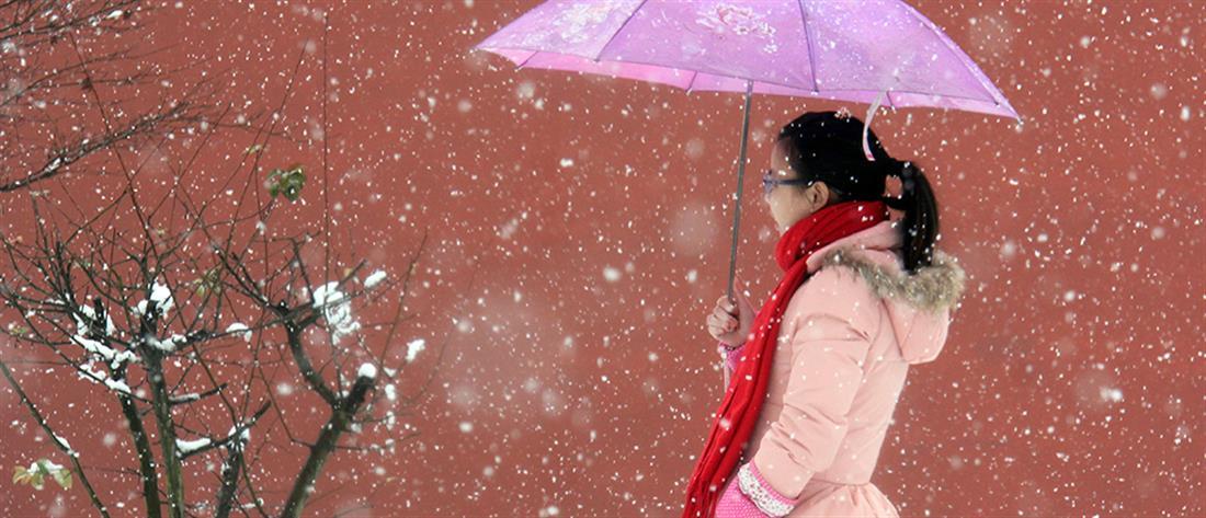 Πρωτοφανές κύμα ψύχους πλήττει την Κίνα