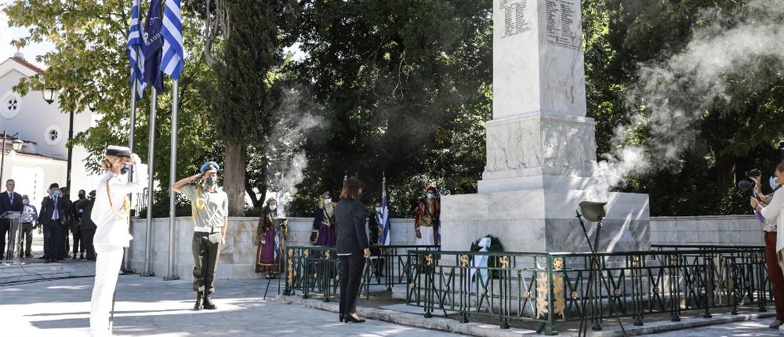 """""""Άλωση της Τριπολιτσάς"""": Η Σακελλαροπούλου στις εκδηλώσεις για τα 200 χρόνια"""
