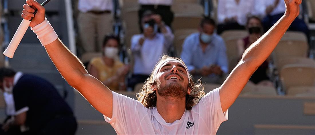 Roland Garros – Τσιτσιπάς: με αντίπαλο τον Τζόκοβιτς στον τελικό