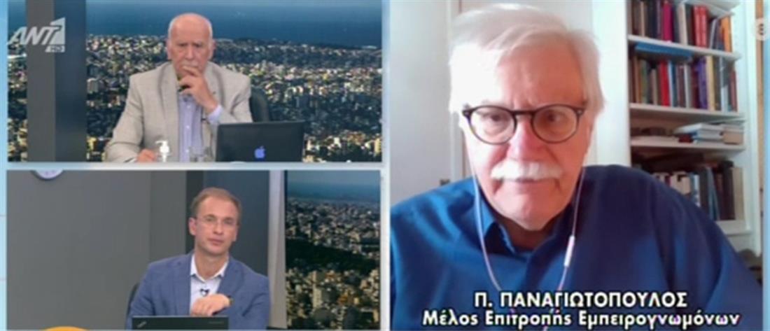 Παναγιωτόπουλος στον ΑΝΤ1: οι μεταλλάξεις είναι η αχίλλειος πτέρνα στην μάχη με τον κορονοϊό (βίντεο)