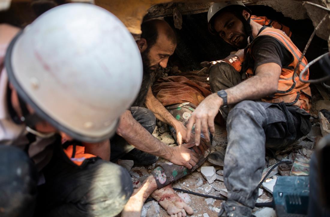 AP - Γάζα - Παλαιστίνιοι