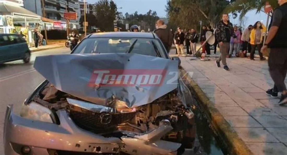 Πάτρα - τροχαίο ατύχημα