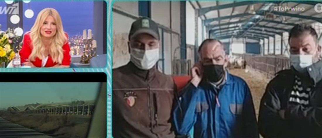 """Στο """"Πρωινό"""" ο άστεγος από την Αθήνα που έκανε νέα αρχή στην Κοζάνη (βίντεο)"""