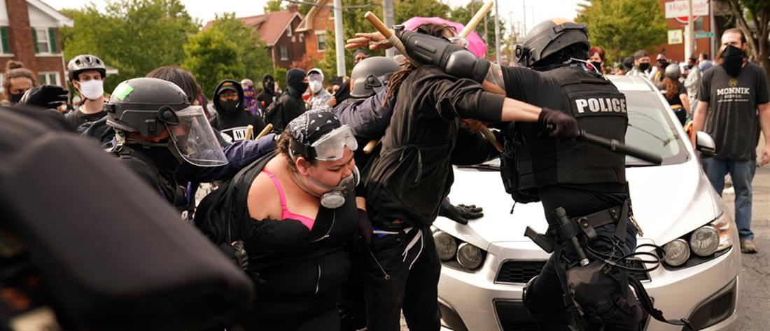 Αστυνομικοί πυροβολήθηκαν σε διαδήλωση στο Κεντάκι