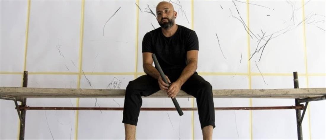 Ζωγραφίζει δέντρα για την ανοικοδόμηση κατοικιών στην Βηρυτό