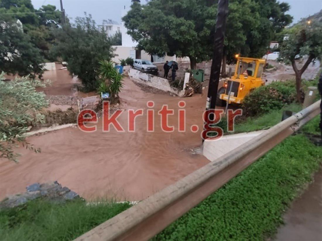 Πλημμύρες - Δήμος Χερσονήσου - Κρήτη