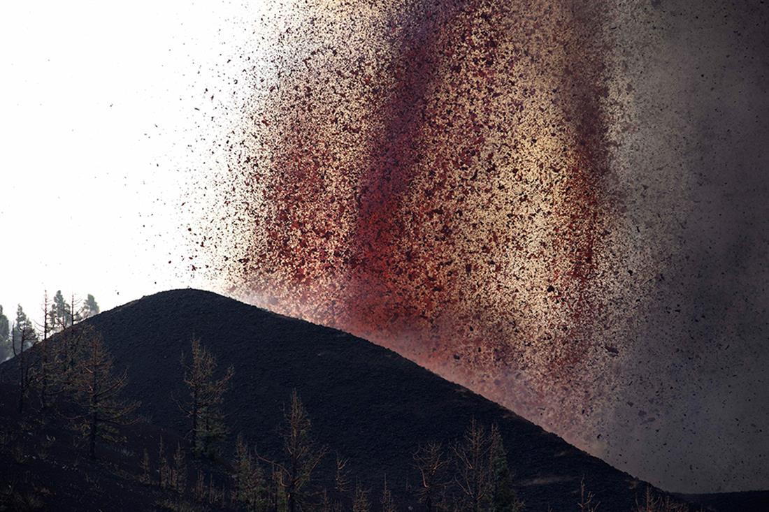 AP - Ισπανία - ηφαίστειο