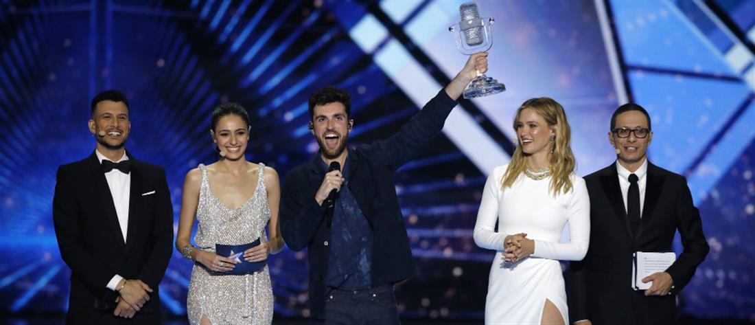 Eurovision: η Ολλανδία κατέκτησε την πρωτιά στον διαγωνισμό (βίντεο)