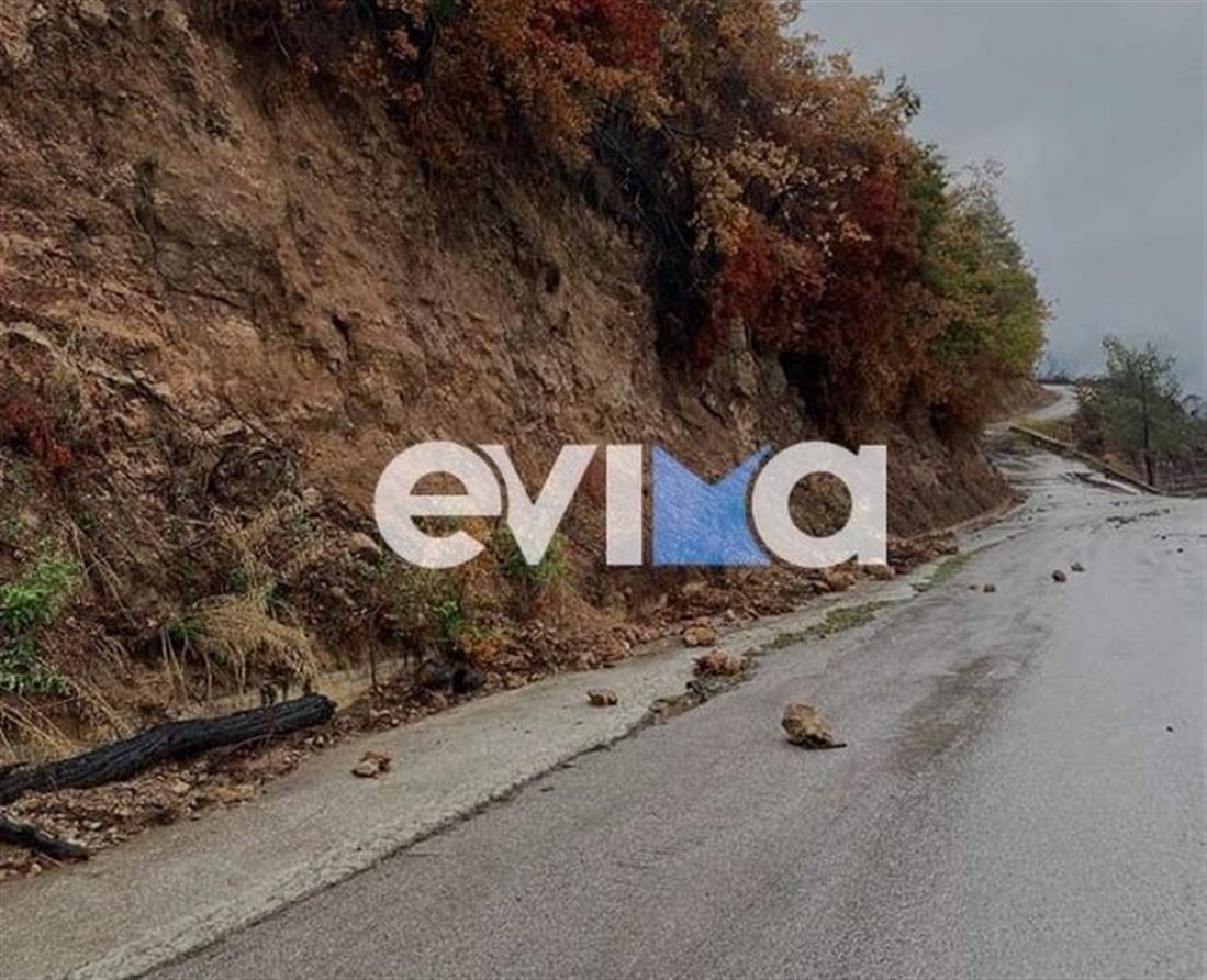 Κακοκαιρία Αθηνά - Βόρεια Εύβοια