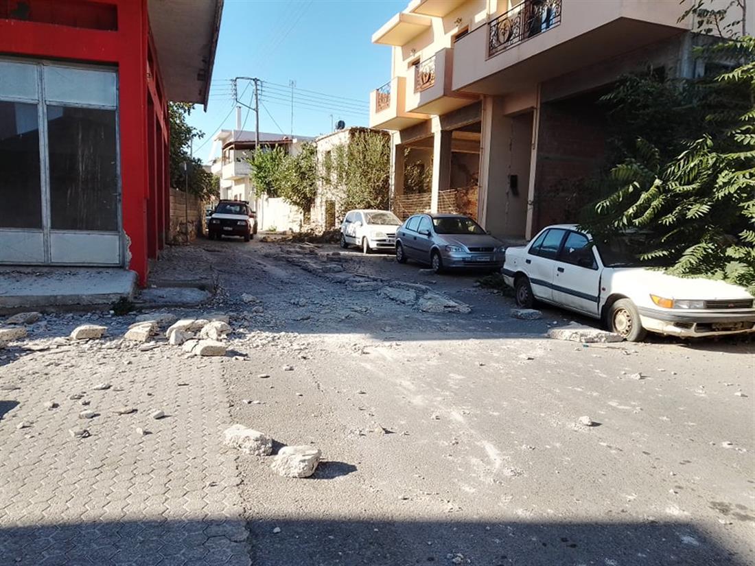 Ηράκλειο - σεισμός