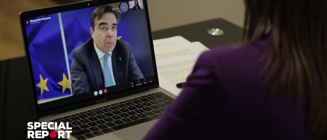 """Special Report"": ο Μαργαρίτης Σχοινάς για τα εμβόλια και το  ""υγειονομικό διαβατήριο"""
