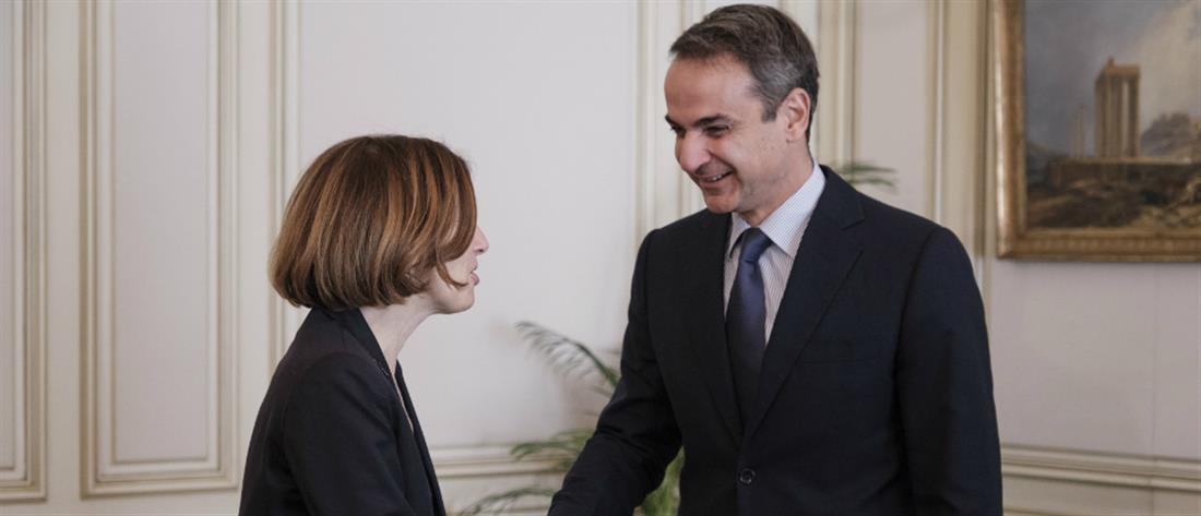 Φλοράνς Παρλί: Αποφασιστικά στο πλευρό της Ελλάδας η Γαλλία