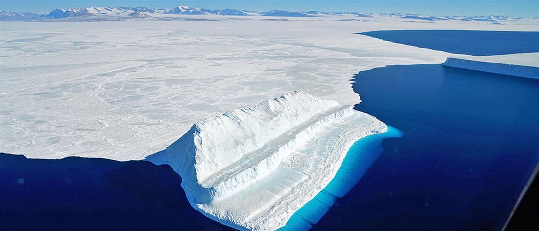 Ανταρκτική - λιώσιμο πάγων – κλιματική αλλαγή – άνοδος θερμοκρασίας -Antarctica