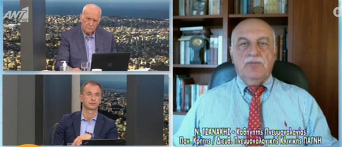 Τζανάκης για κορονοϊό στον ΑΝΤ1: σύντομα θα έχουμε μονοψήφιο ημερήσιο αριθμό θανάτων (βίντεο)