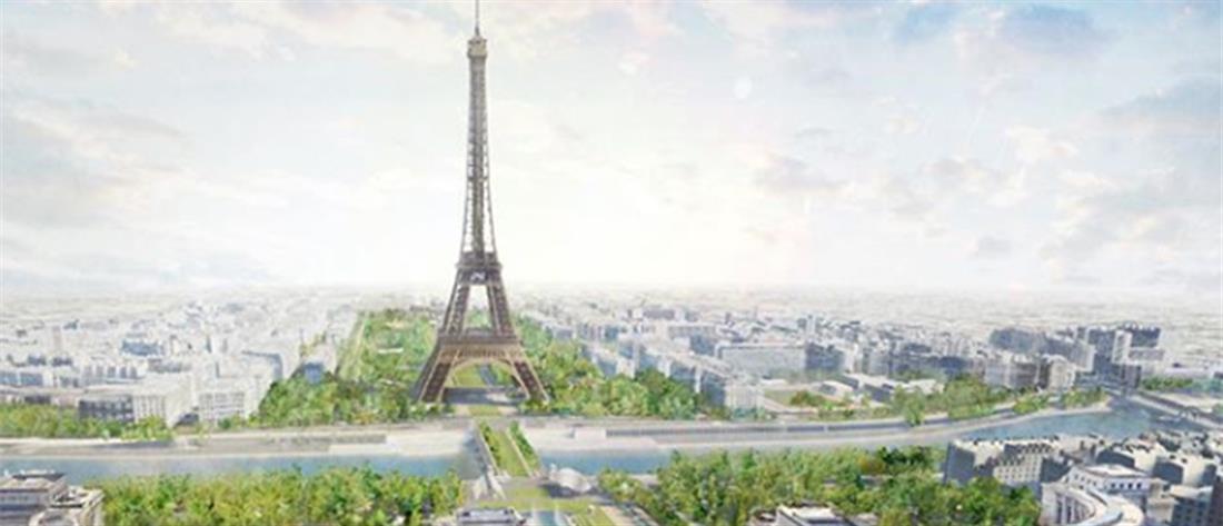 Ένα σύγχρονο πάρκο πρασίνου στον Πύργο του Άιφελ (εικόνες)