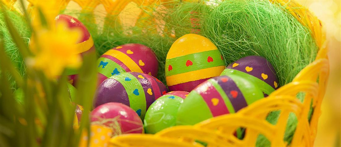 Πάσχα - αυγά - κατάστημα