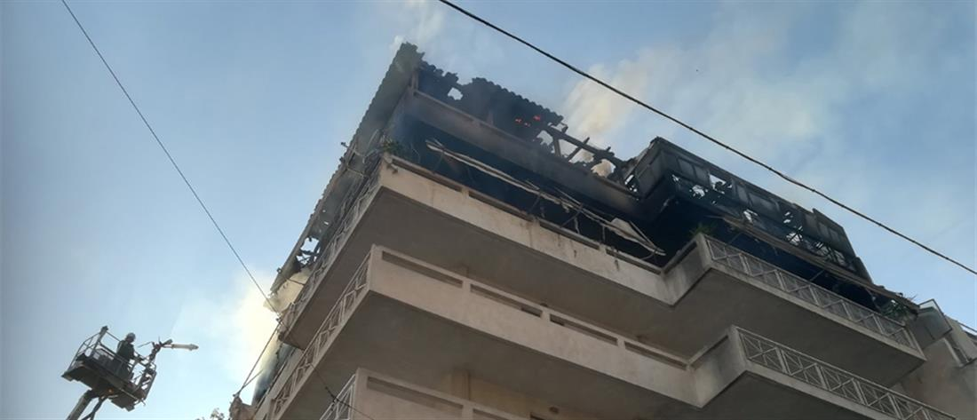 Μεγάλη πυρκαγιά σε διαμέρισμα – Απεγκλωβισμός ενοίκων