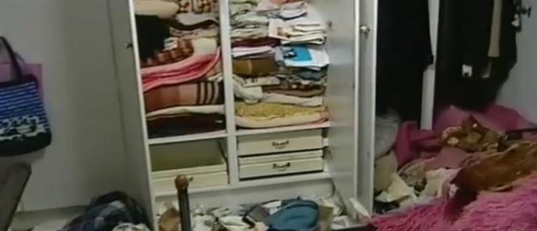 Διαρρήκτης είχε κρυφτεί στην ντουλάπα!