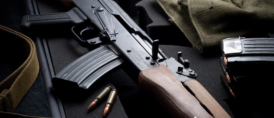Βρέθηκε οπλοστάσιο στα Ελληνοαλβανικά σύνορα (φωτο)