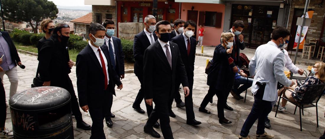 ΓΙΑΒΟΥΖ ΣΕΛΙΜ ΚΙΡΑΝ - Τούρκος Υφυπουργός Εξωτερικών - Θεσσαλονίκη