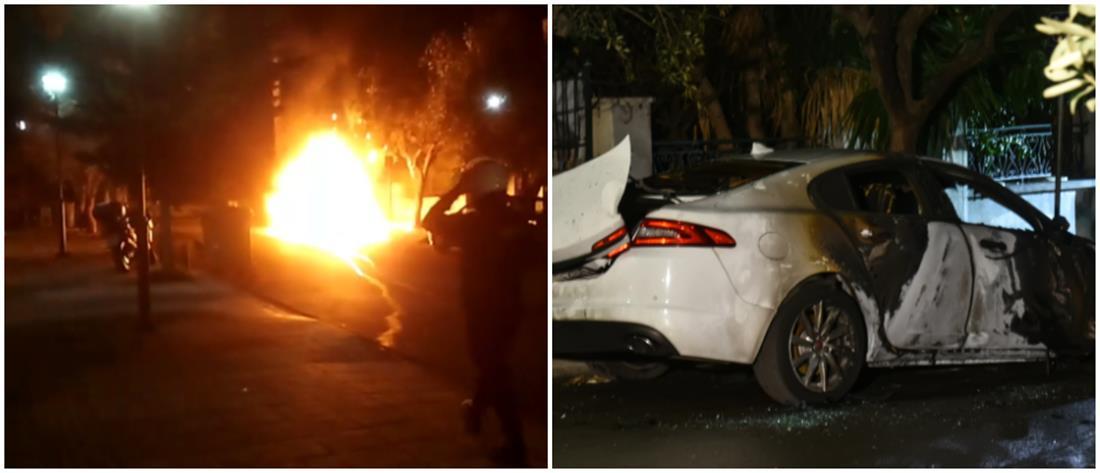 Έκρηξη βόμβας σε αυτοκίνητο εκδότη εφημερίδας (βίντεο)