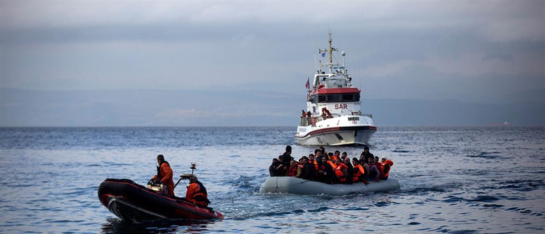 Διάσωση προσφύγων σε Φαρμακονήσι και Ικαρία