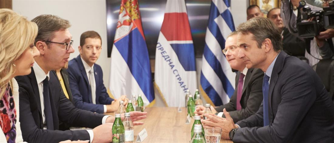 Βούτσιτς: Με Μητσοτάκη θα γίνουν ακόμα καλύτερες οι σχέσεις Σερβίας – Ελλάδας